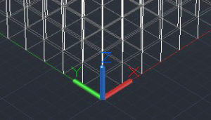 3-D grid origin point