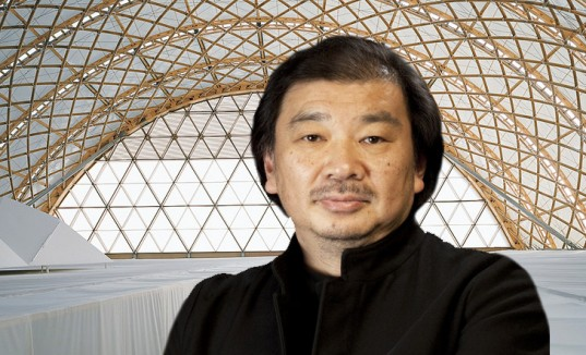 Shigeru Ban won the 2014 Pritzger Prize