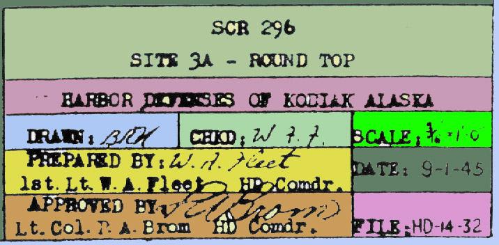 Title block 1945 color