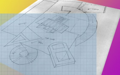 Using a Raster Sketch as an Underlay for CAD